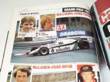 BRITISH GP 1982 program signed FRANK WILLIAMS, PATRICK HEAD, ROSBERG, FITTIPALDI